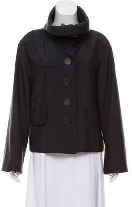 Akris Punto Lightweight Button-Up Jacket