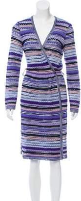 Missoni Patterned Knee-Length Dress