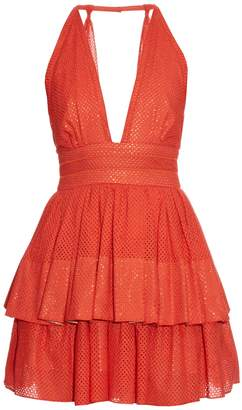 Sophie Theallet Anais plunging-neckline dress