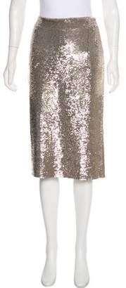 IRO Sequined Knee-Length Skirt