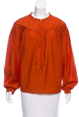 Steven Alan Oversize Round Neck Top