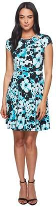 MICHAEL Michael Kors Springtime Floral Dress Women's Dress