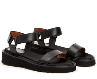 Aquatalia Wande Waterproof Patent Sandal