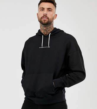 b79683ad19d61 Good For Nothing oversized hoodie in black with logo