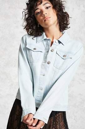 Forever 21 Button-Up Denim Jacket