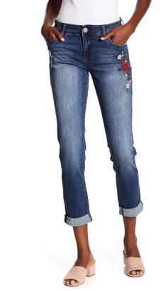 KUT from the Kloth Katy Embroidered Boyfriend Jeans