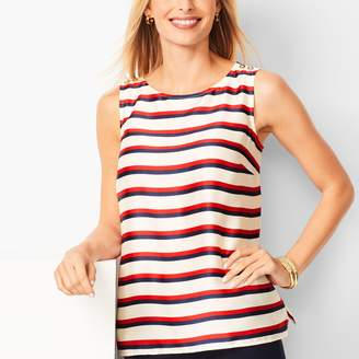 Talbots Rugby-Stripe Shell