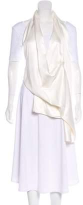 Victoria Beckham Silk Halter Vest w/ Tags