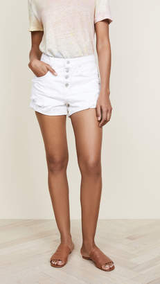 Nobody Denim The Boho Exposed Button Shorts