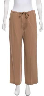 Agnona High-Rise Flared Pants