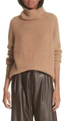 Nili Lotan Anitra Rib Knit Turtleneck Sweater