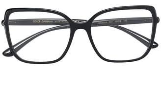 Dolce & Gabbana Eyewear oversized square glasses