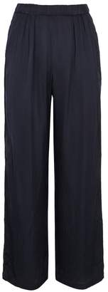 Velvet by Graham & Spencer Perrin Navy Wide-leg Trousers