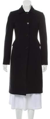 Versace Long Wool Coat