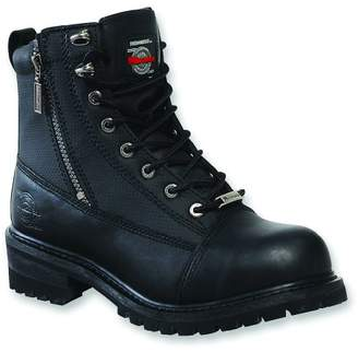 Milwaukee Motorcycle Clothing Company Trooper Leather Women's Motorcycle Boots (