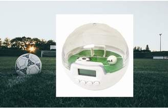 Creative Motion Industries Soccer Digital Clock and Game . Clock and Game in one. Portable on the road. Keep the Soccer Nuts in action all the time. Gift, Game. FunProduct Size: 4 x 4 x 4
