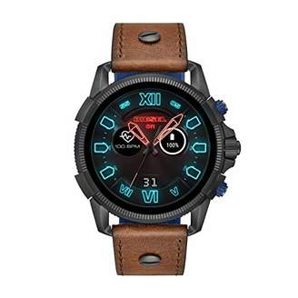Diesel Men's 'Smartwatch' Quartz Stainless Steel and Leather Smart Watch