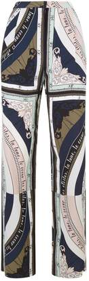 Tory Burch Sienna Astronomy Print Trousers