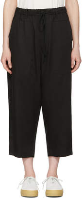6397 Black Drawstring Trousers