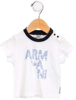 Armani Junior Boys' Graphic T-Shirt