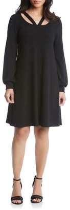 Karen Kane Karen Lane Cutout Neck Sweater Dress