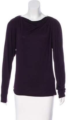 Lanvin Long Sleeve Knit Top