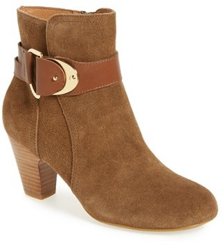 Women's Sofft 'Nadra' Ankle Strap Bootie $139.95 thestylecure.com