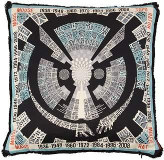 Missoni Mouse Horoscope Cotton Pillow