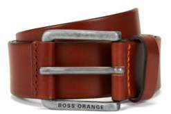 BOSS Hugo Leather Belt Jakab Sz40 Ltpl 38 Brown