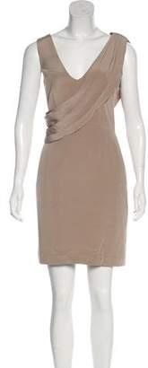Laila Azhar Sleeveless Silk Dress