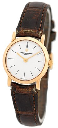 Vacheron Constantin Patrimony Classique 18K Rose Gold Strap Womens Watch $13,000 thestylecure.com