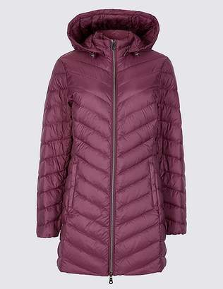 "Marks and Spencer PETITE Down & Feather Coat with Stormwearâ""¢"