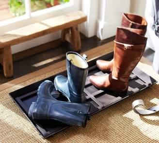 Pottery Barn Blacksmith Boot Tray