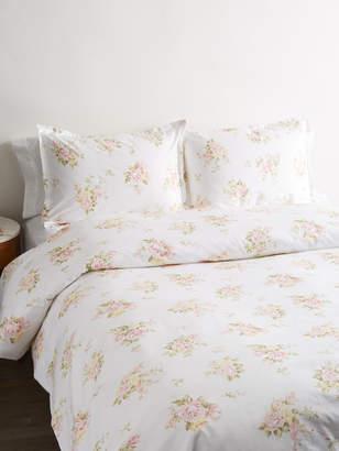 Melange Home Rose Bouquet Cotton Duvet Set