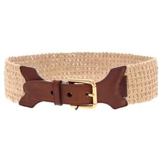 Dolce & Gabbana Beige Cloth Belts