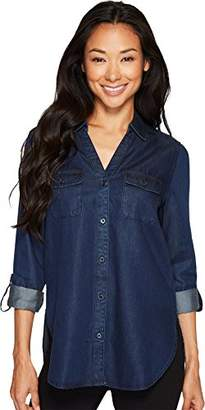 NYDJ Women's Chambray Denim Shirt