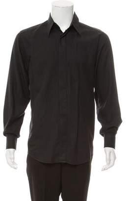 Dolce & Gabbana French Cuff Button-Up Shirt