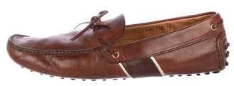 Car Shoe Leather Penny Driving Loafers