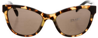 prada Prada Tortoiseshell Cat Eye Sunglasses w/ Tags