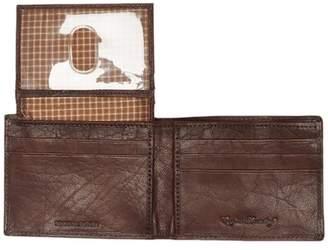 English Laundry Shrunken Leather Passcase Wallet