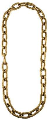 Marc Jacobs Large Tube Chain Necklace