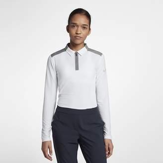 Nike Zonal Cooling Women's Long Sleeve Golf Polo