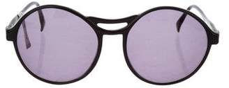 Cacharel Oval Tinted Sunglasses