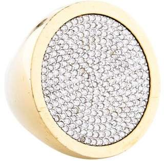 Michael Kors Crystal Pavé Cocktail Ring