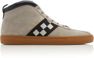 Bally Vita Parcours Suede High-Top Sneakers