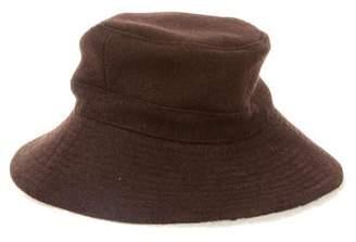 Hermes Shearling-Lined Bucket Hat