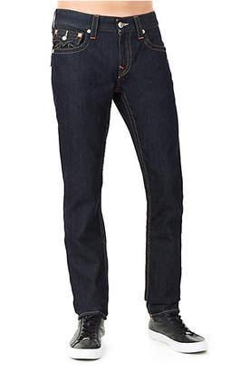 True Religion Skinny Fit Natural Stitch Jean