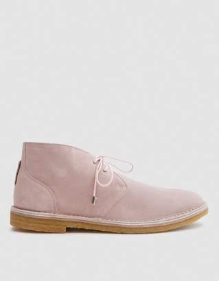 Mcguffin & Purpose Original McGuffin Desert Boot in Quartz Suede