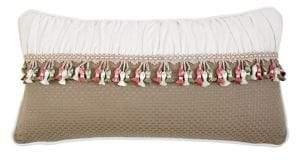 Rose Tree Izabelle Basketweave Decorative Pillow