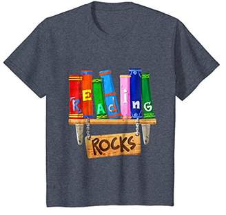 Reading Rocks Love to Read Books Librarians Gift T Shirt
